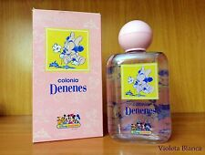 Colonia infantil DENENES edición Disney Babies (Minnie). Cristal. 200 ml. NUEVA