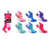 Ladies Teenager 6 Pairs Pro hike trainer socks size 4-8 block & White  colours