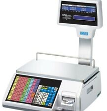 Cas Cl 5500r 60ne Pole Ethernet Label Printing Scale 3060lb Legal For Trade