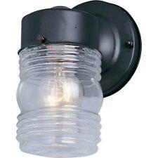 Maxim Lighting 1-Light Outdoor Wall Mount Black - 92001Clbk