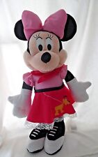 "Minnie Mouse Disney Porch Greeter 22"" Retro Rockabilly Sockhop Pluto on Skirt"