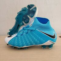 Nike Hypervenom Phantom III 3 DF FG Soccer Cleats Blue SZ 4.5 ( 860643-104 )