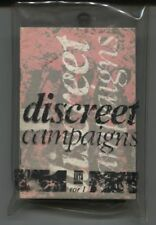 Discreet Campaigns -  1985 UK Cassette Tape - Various Artists / Case + Booklet