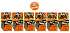 """Gorilla Tape To Go - 1"""" x 30' Handy Roll - Duct Tape, 6 Pack"""