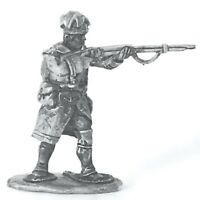 French Marine, Snowshoes, Cap Greatcoat Firing FIW 28mm Unpainted Wargame