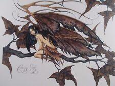 "Amy Brown - ""Autumn Siren"" - 8"" X 10"" Open Edition Print - Very Rare"