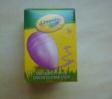 Crayola Easter Egg Shaped crayon, purple, 2015, Style # 52-1502