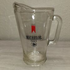 Michelob Beer Vintage Glass Pitcher In Good Condition!