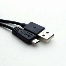 2m USB NERO-A 2.0 a Micro USB 5v 2a Caricabatterie Cavo Adattatore Di Alimentazione Cavo
