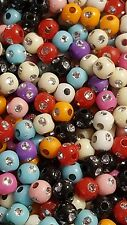 100pcs x 4mm beads with tiny silver stones around the outside