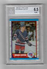 1989 O-PEE-CHEE Brian Leetch #136 Hockey Card - BVG 6.5 EX-MT+