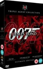 James Bond Ultimate Edition - Dr. No/live and Let Die/die Another Day DVD 196