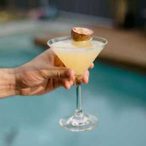 D-Still 235ml Polycarbonate Diamond Cut Martini Glass | Plastic Cocktail Glass