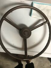 1963 Ford Econoline Steering Wheel Brown Will Fit Other Ford Trucks