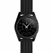 GS3 Bluetooth Smart Watch with Heart Rate Monitor - Black - UK Item