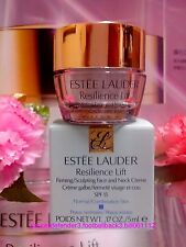 ESTEE LAUDER Resilience Lift Firming Sculpting Face & Neck Creme◆5ML◆NIB #1637