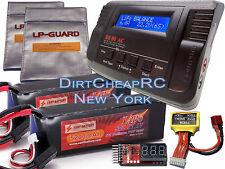 22.2V COMBO B680 Charger 11.1V 5200mah LiPo Battery Traxxas E-Revo E-Maxx Savage