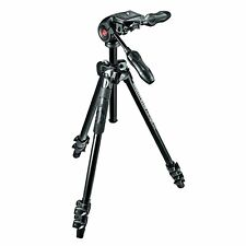 "Manfrotto Alustativ 290 Light Kit inkl. 3-Wege-Neiger ""MK290LTA3-3W"""