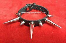 Single strap Large & Small Spiked spike Studded bracelet wristband wrist cuff