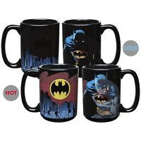 Zak DC Batman Super Hero Large 15oz Color Changing Ceramic Tea and Coffee Mug
