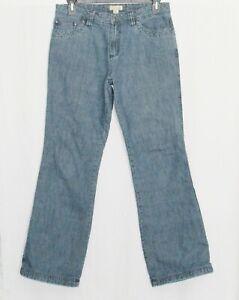 GANDER MOUNTAIN Jeans Womens 8 Flannel Lined Denim Pants Medium Mtn Bottoms 8 M