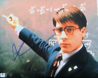 Jason Schwartzman Signed Autographed 11X14 Photo Rushmore Blackboard GV801627