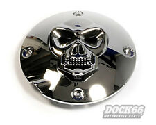 Skull derby Cover embrayage couvercle pour Harley-Davidson sportster