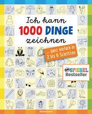 Ich kann 1000 Dinge zeichnen. Kritzeln wie ein Profi! Norbert Pautner Hardcover