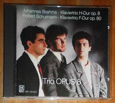 TRIO OPUS 8: BRAHMS op 8 SCHUMANN op 80 KLAVIERTRIO PIANO TRIO CD