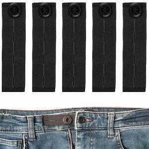 Bequeme Hosenbunderweiterung, 5 Pack, verlängert - 14 cm, Hosenbund Verlängerung