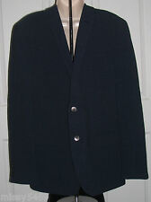 THE SAVILE ROW CO. Mens Navy Blue Checked Wrinkle Resistant Sport Coat 42 $190