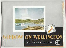 OLD BOOKLET Window on Wellington by Frank Clune nd. c 1950's  NZ