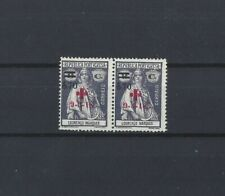 L. Marques Mozambique CERES Red Cross MNH pair #169 70 / 8 cent surcharge overpr