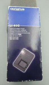 Charger for Olympus Li-60B Li60B 202252 LI-60C LI60C 200253 NIB