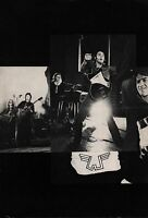 PAUL McCARTNEY 1972 WINGS OVER EUROPE TOUR CONCERT PROGRAM BOOK / EX 2 NMT