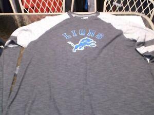Detroit Lions NFL Team Apparel  shirt  XL L/S