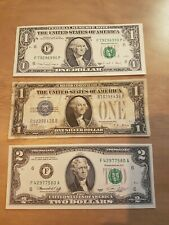 USA Banknote Collection 1928, 1976 And 1988