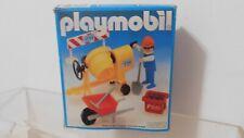 Playmobil 3562 Bauarbeiterin (!) mit Mörtelmischer, Schubkarre, Bierkasten