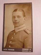 Dresden - Soldat in Uniform - Regiment Ulan UR 16 ? / CDV