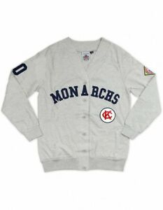 KANSAS CITY NEGRO LEAGUE BASEBALL CARDIGAN SWEATER UNISEX NEGRO LEAGUE CARDIGAN