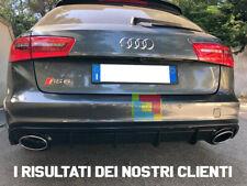 AUDI A6 4G 2010-2014 SOTTO PARAURTI POSTERIORE DIFFUSORE LOOK RS6 .-