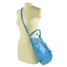 NWT Marc by Marc Jacobs Preppy Leather Hobo Crossbody M3121237 in Electro Blue