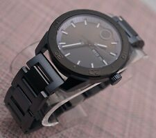Swiss Movado Bold Black PVD Coated Stainless Steel Model # 3600512 Men's Watch