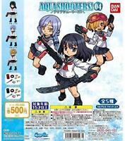BANDAI AQUA SHOOTERS 03 Gashapon 5 set mini figure capsule toys