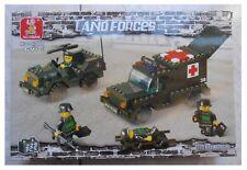 Costruzioni Sluban Land Forces jeep ambulanza croce rossa 229 pezzi tipo Lego