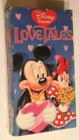 Disney VHS Tape Twelve Love Tales Children's Video