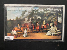Gb 1980 £3 story of wedgwood booklet Dx2 Mnh (A404)