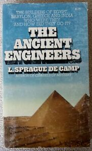 The Ancient Engineers by L. Sprague de Camp PB 1st Ballantine