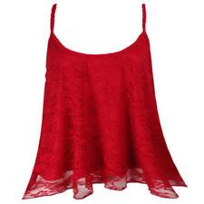 Maglie e camicie da donna Canottiera, canotta con spalline floreale taglia S