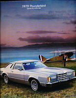 1979 Ford Thunderbird Deluxe Sales Brochure book